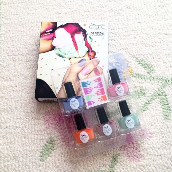 Nail Design Kit! BRAND NEW!!! Never been used. Bottles have never been opened. Make cool designs on your nails!! Other
