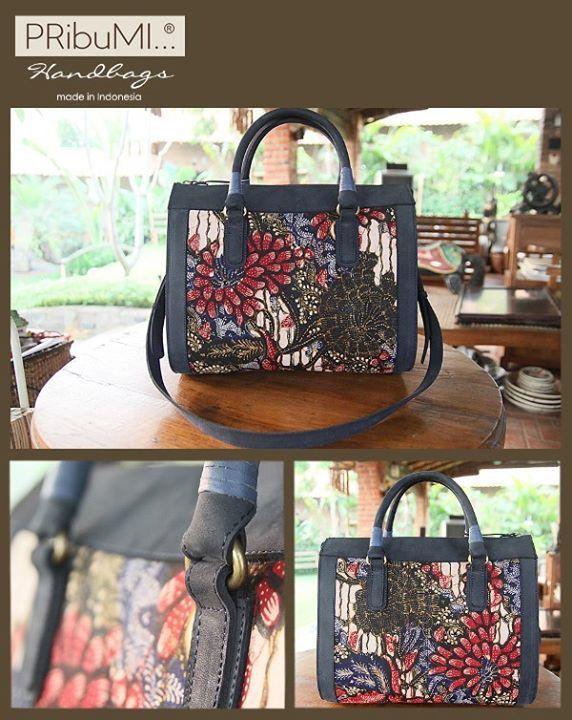SALIRA Bowling Bag Style Series Serial # 1541796K  Batik Lasem Buketan Latar Lereng.