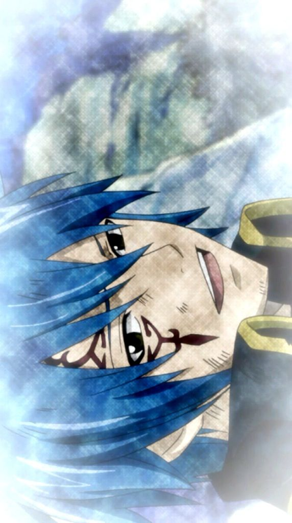 Mystogan has the same face as jellal,it's not scary......
