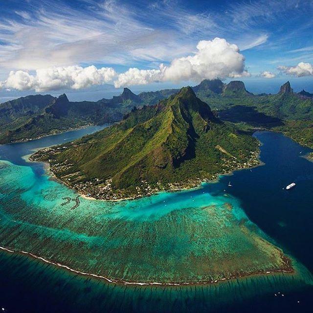 Mo'orea, French Polynesia ✖️✖️✖️✖️✖