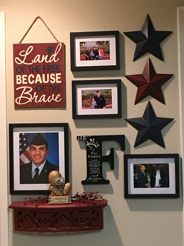 Usaf Wall Decor : Best ideas about army decor on military shadow box deployment letters and