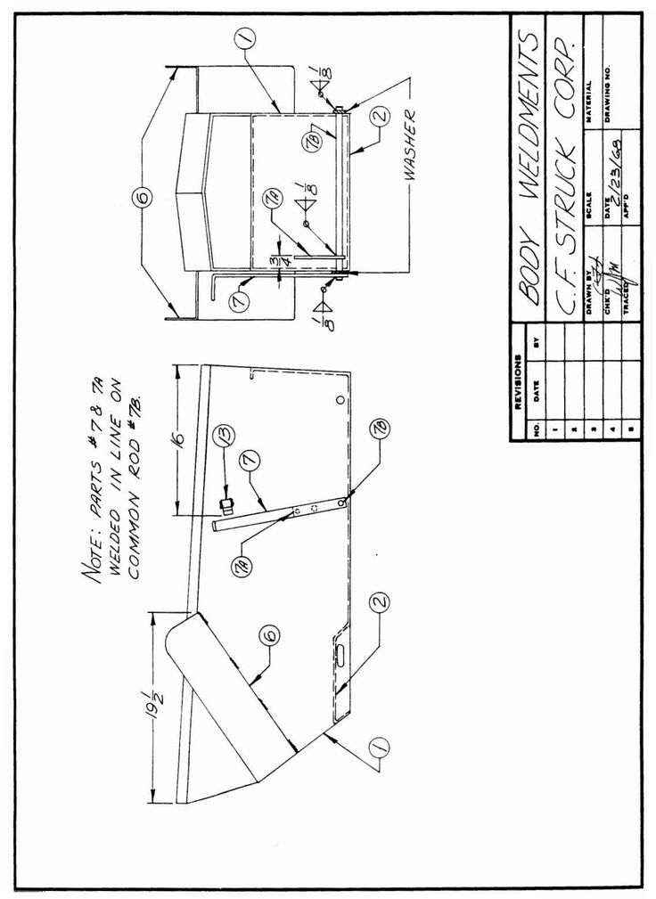 MD 4045 Plans Assembly Manual Belt (Mechanical