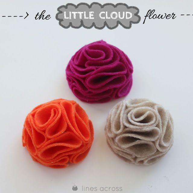 Tutoriel : Comment faire une petite fleur en feutre - Le blog de Miss Kawaii