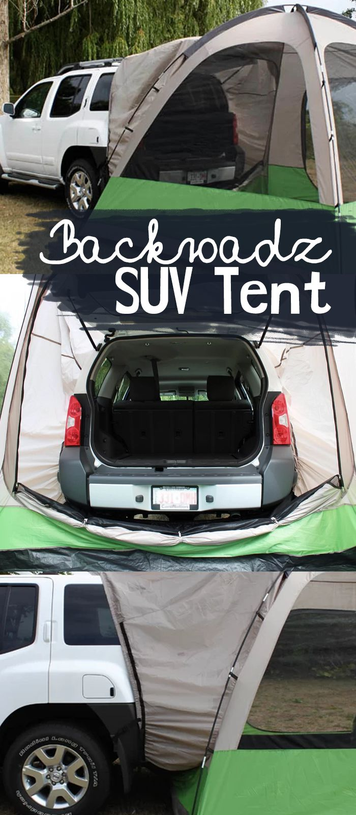 Featuring a space-efficient design the Napier Outdoors Backroadz SUV Tent is great for travel and car c&ing. The tent is designed to fit every CUV SUV ... & Best 25+ Suv camping tent ideas on Pinterest | Suv camping Car ...