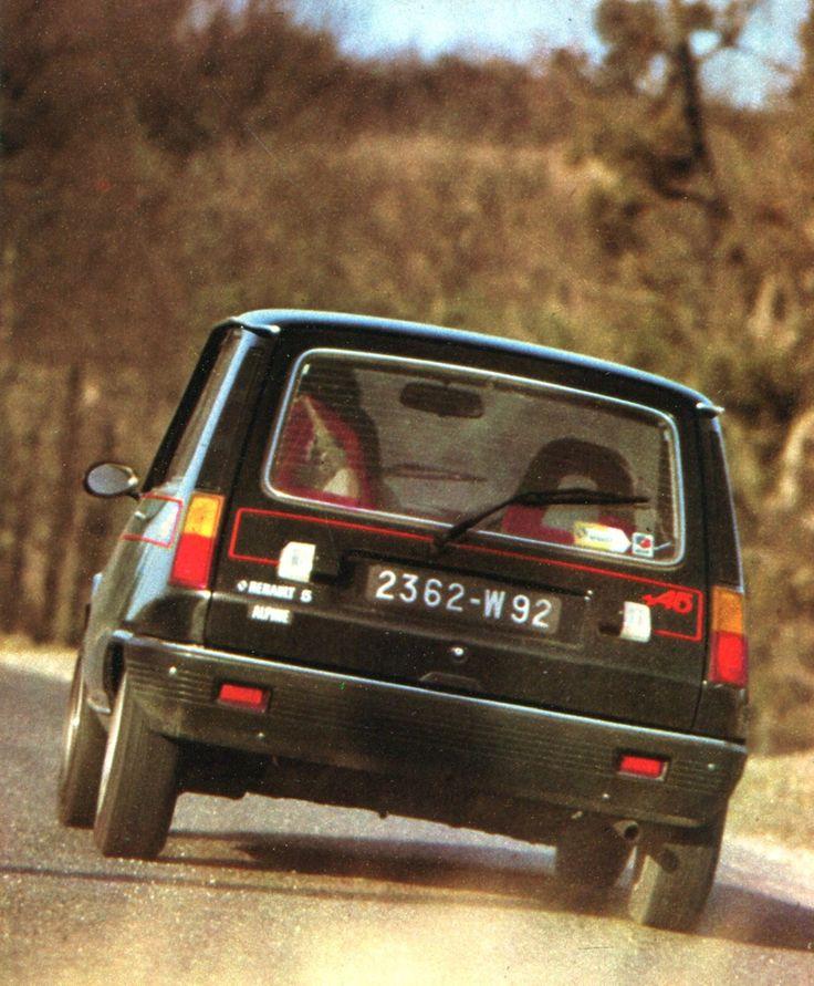 Renault 5 Alpine - L'Automobile avril 1976. ✏✏✏✏✏✏✏✏✏✏✏✏✏✏✏✏ IDEE CADEAU / CUTE…