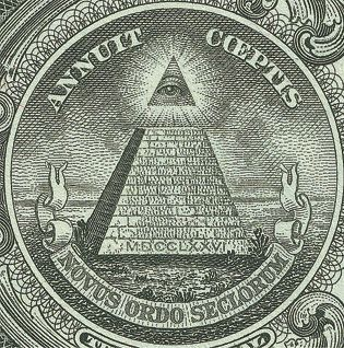 Masonic Vice-President Henry A. Wallace Msonic President FDR added the pyramid to the dollar bill in 1935