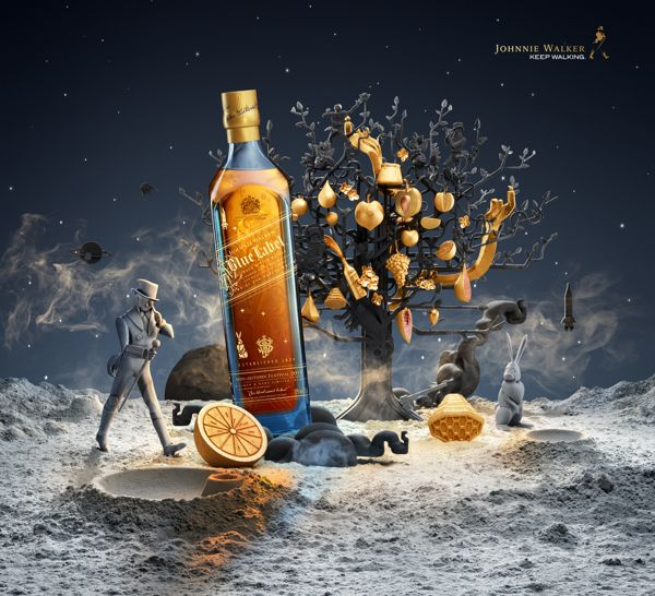 Johnnie Walker Mid-Autumn Festival by Shotopop , via Behance