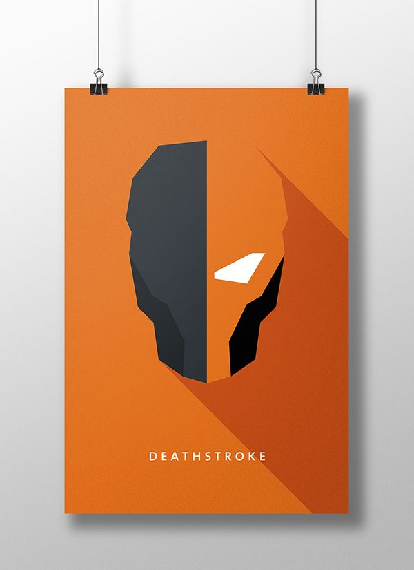 Flat Design Character Poster Part 2 on Wacom Gallery