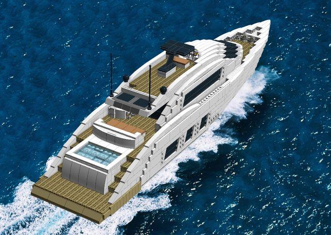 Luxury Sport Yacht Lego Boat Lego Sets Sport Yacht