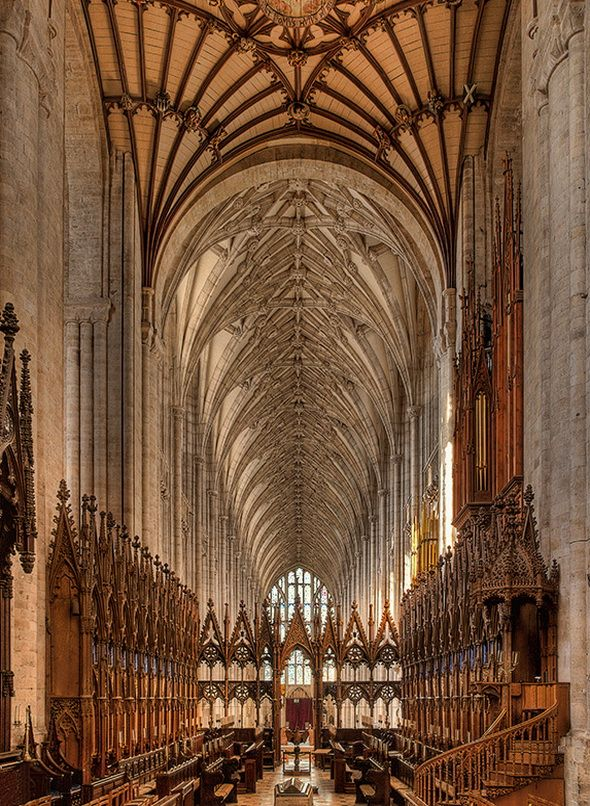 Winchester Cathedral in Hampshire, England