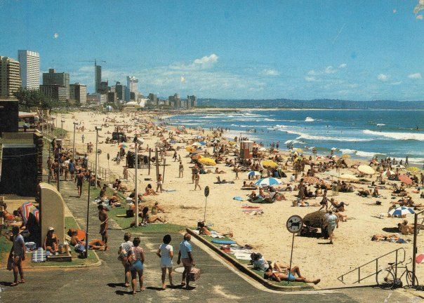 Old Durban Pics: 18 Do you remember the beach looking like this?