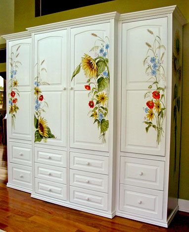 Welcome To The Jane Crick Gallery! Decoupage FurnitureHand Painted ...