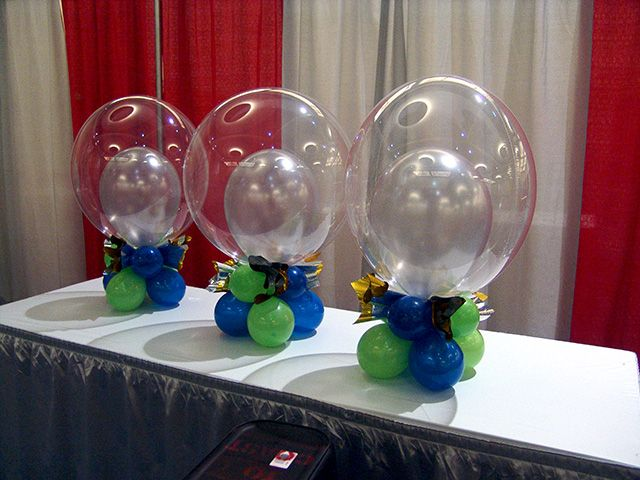 50 brilliant balloon creations from balloonatics for big for Balloon decoration classes