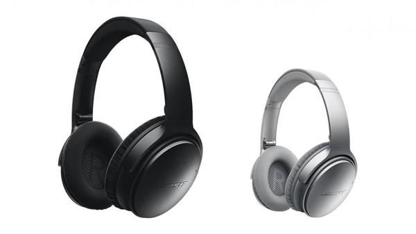 Bose QC35 Quiet Comfort Noise Cancelling Wireless Headphones  Product Description     The Bose Quiet Comfort 35 Headphones take Wireless & Noise Cancelling to a whole other level guaranteed to put a smile on your dial with not a wire in sight. Personal audio heaven - untethered. Overview Bose spent 40+ years of research in pursuit of the best noise cancellation in the world. Then they obsessed about making it wireless. The result: QuietComfort 35 wireless headphones. Free yourself from wire