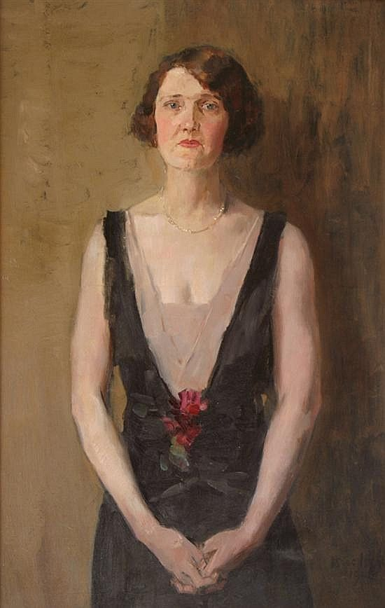 **Isaac Israels 1865-1934 (Dutch) Portrait of Beul - by Matsart Auctioneers & Appraisers