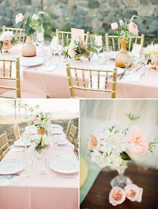 romantik und vintage rose hochzeit dekoration ideen. Black Bedroom Furniture Sets. Home Design Ideas