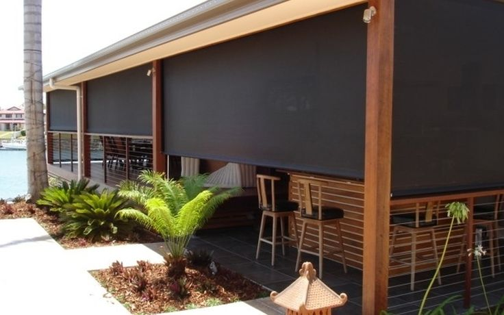 1000 ideas about outdoor blinds on pinterest patio for Privacy shutters for deck