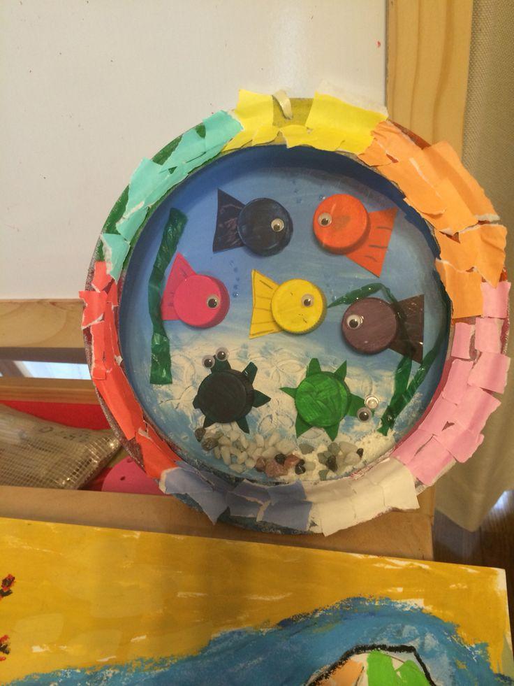 Kids craft  Aquariums