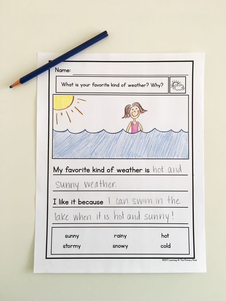 This is a set of Kindergarten opinion writing prompts designed to help you differentiate during writing time!  Each prompt comes with several graphic organizers, many options for drafting paper (with built-in scaffolds), and publishing/final draft paper.