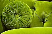 green velvetChartreuse, Velvet Crushes, Velvet Couch, Chairs, Limes Green, Colors Green, Velvet Sofas, Couch Pillows, Green Velvet