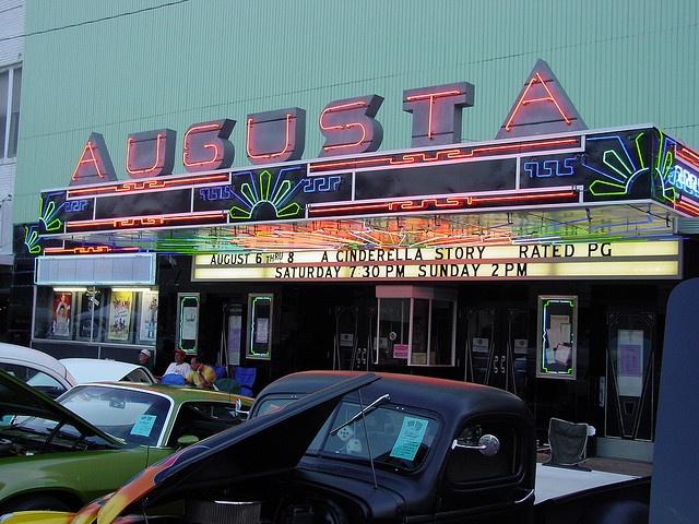 Augusta Ks Movie Theatre Lets Go Home... Pinterest