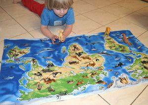 Handmade play mats