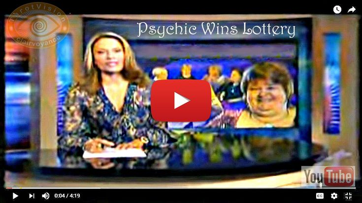 The YouTube Vid showing the true Psychic Wins Lottery headline. ($1.8M)