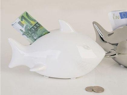 Kasička keramická Žralok, 15 cm - 1 340,-