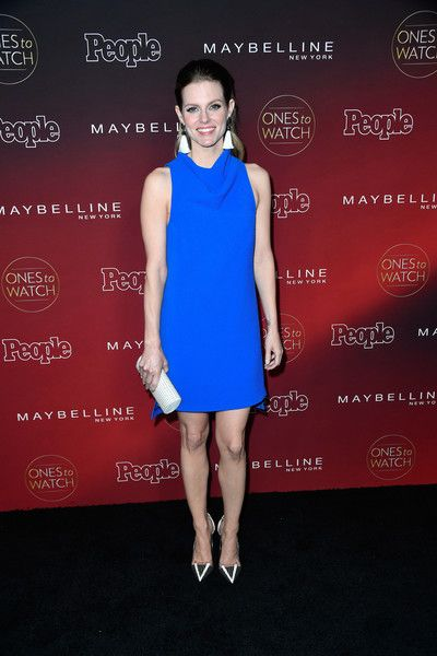 """Chelsey Crisp attends People's """"Ones To Watch"""" at NeueHouse Hollywood on October 4, 2017 in Los Angeles, California."""