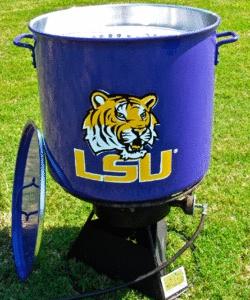LSU 80 Quart Boiling Pot - LSU Tigers - SHOP SPECIALS - Stine