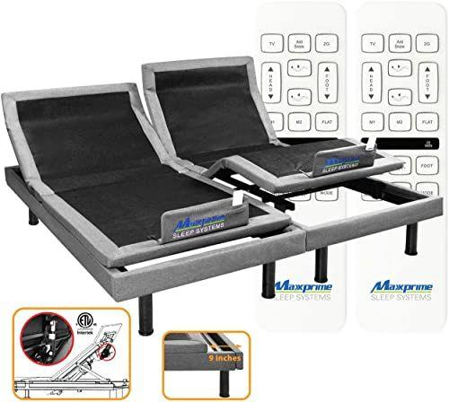 Best Seller Maxxprime Wall Hugger Adjustable Bed Frame Individual