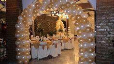 Resultado de imagem para ambientacion para bodas de oro