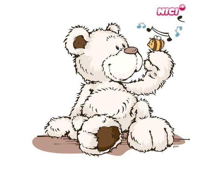 Wandtattoo Classic Bear Beliebte Marken NICI NICI Bears