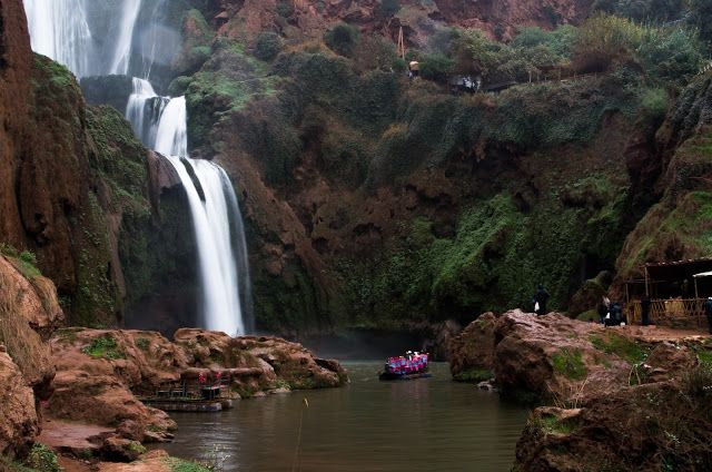 Cascades d'Ouzoud (Maroc)