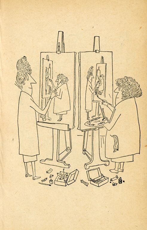 Steven Heller looks back at the great Saul Steinberg's work—and remembers the time Steinberg snubbed him.
