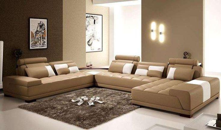 Arredare il soggiorno con il color tortora - Soggiorno tortora con ...