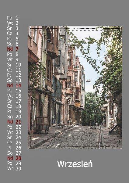 Kalendarz pionowy - Istambuł, Stambuł, Turcja, Calendars