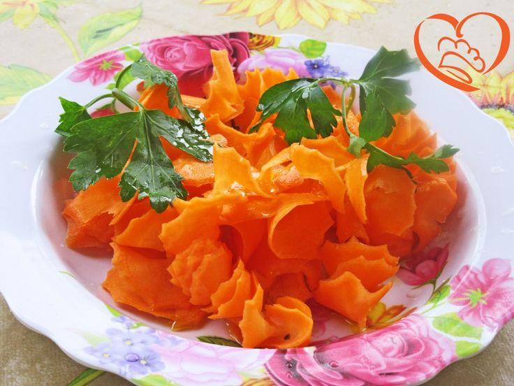 Tagliatelle di carote (con temperino)