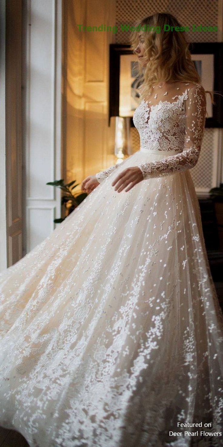 37 Unique Sleeve Wedding Dress Trends Ideas