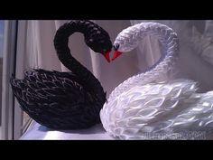 Поделки из атласных лент.Crafts from satin ribbons. - YouTube