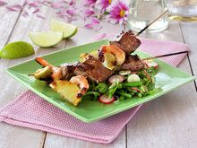 Surf and turf spyd med lime