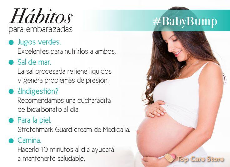 Prepárate para la llegada de tu #bebé incluyendo estos hábitos a tus días #Embarazo #Mom #FitMom