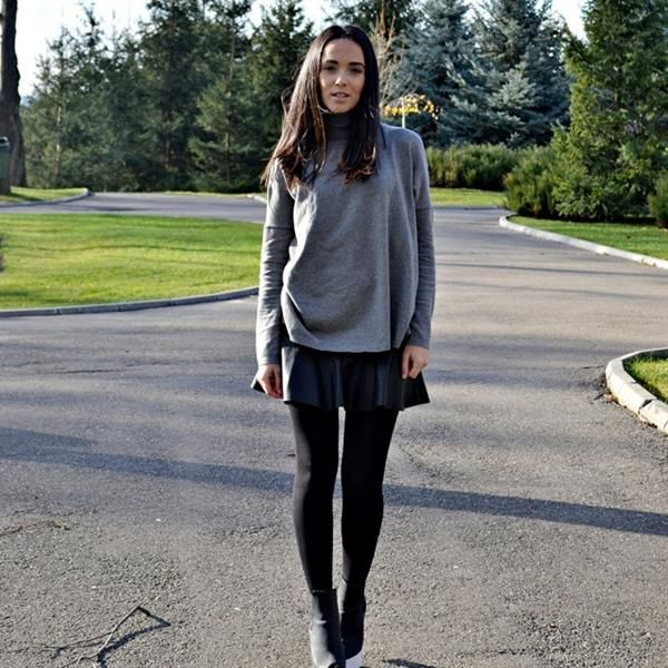 Grey sweater:) by Alexandra Moldovan