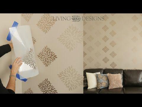 Best 25 plantillas decorativas ideas on pinterest - Ideas para pintar paredes ...