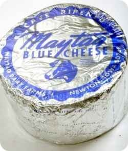 I grew up just a few miles from where Maytag Blue Cheese is made. Every time my sister goes home she gets a big wheel of Maytag Blue for a friend...