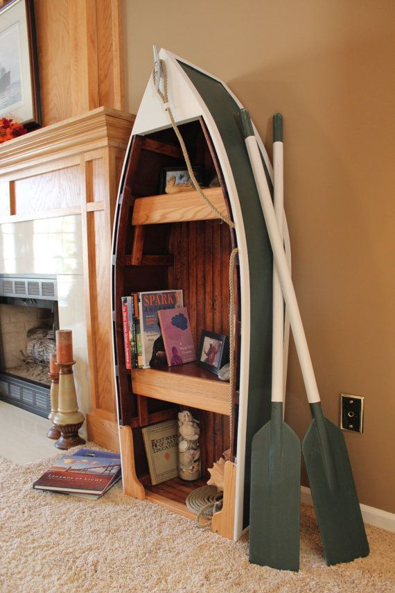 Cool Boat Bookcase