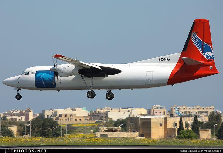 Photo of SE-MFA - Fokker 50(F) - Amapola Flyg