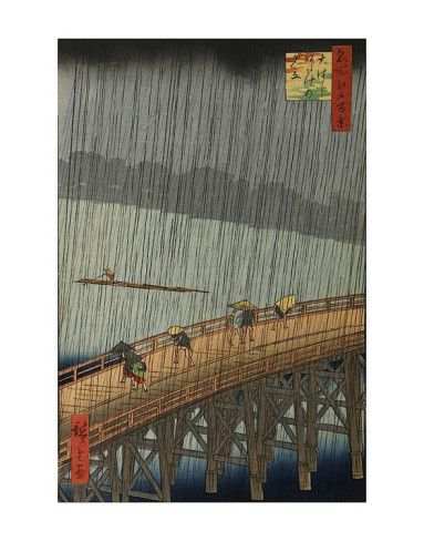 Sudden Shower By Ando Hiroshige http://www.voteupimages.com/image.php?i=100582