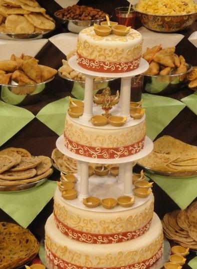 Diwali cake, 2010
