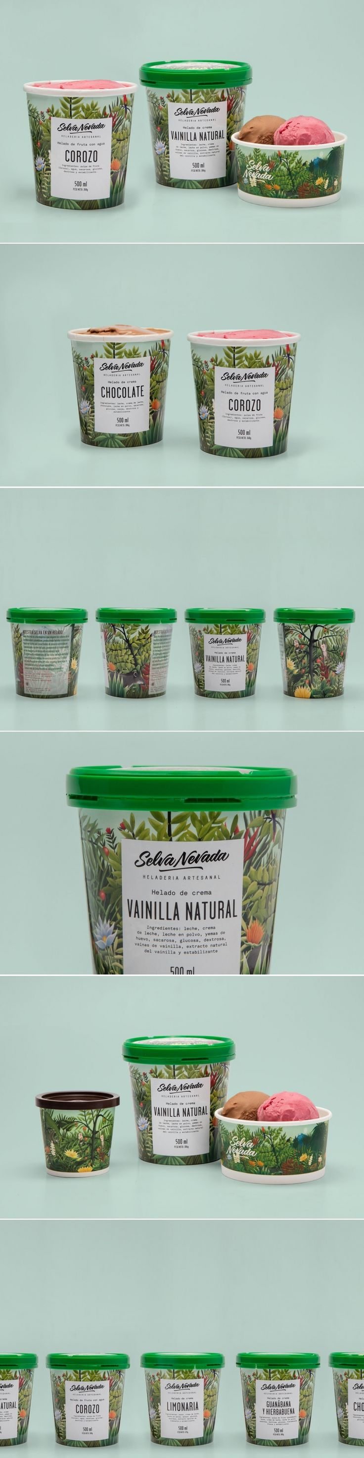 We Love This Botanical Inspired Ice Cream — The Dieline - Branding & Packaging Design